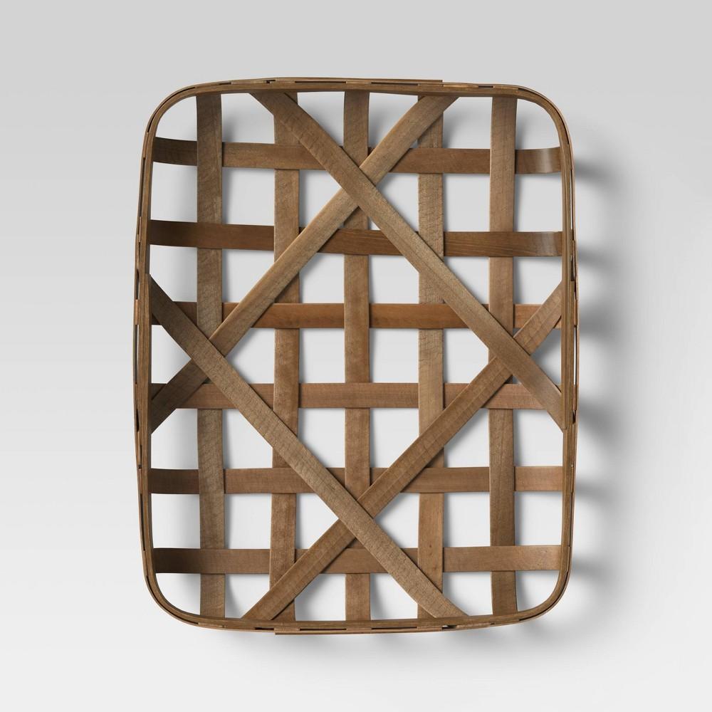 16 X20 Tobacco Basket Brown Threshold 8482