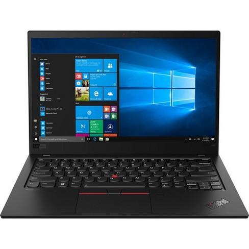 "Lenovo ThinkPad X1 Carbon 7th Gen 20QD00LVUS 14"" Touchscreen Ultrabook - 1920 x 1080 - Core i7 i7-8665U - 16 GB RAM - 512 GB SSD - Black - image 1 of 4"