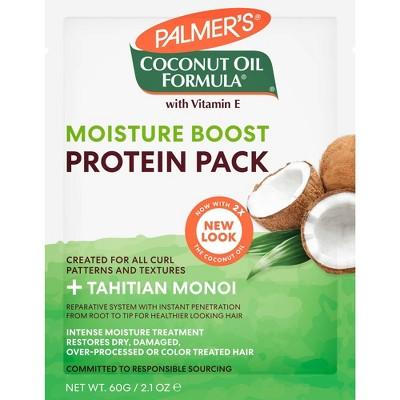 Palmer's Coconut Oil Formula Moisture Boost Protein Pack - 2.1 oz