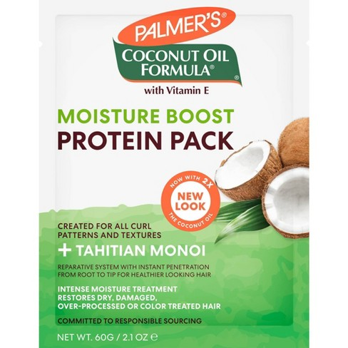 Palmer's Coconut Oil Formula Moisture Boost Protein Pack - 2.1 oz - image 1 of 4