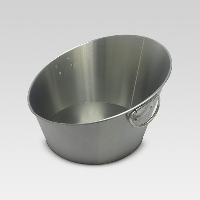 Stainless Steel Angled Beverage Tub - Threshold™