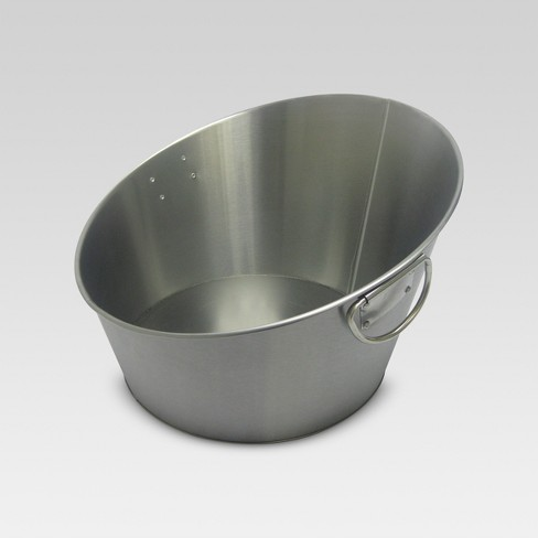 Stainless Steel Angled Beverage Tub - Threshold™ - image 1 of 1