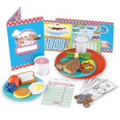 Learning Resources Learn and Serve Play Restaurant - Serve It Up!