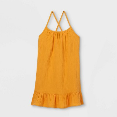 Girls' Flounce Strappy Cover Up - Cat & Jack™