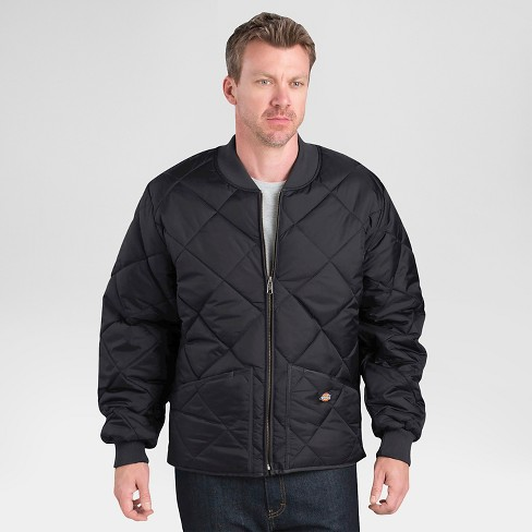 Dickies Men's Big & Tall Diamond Quilted Nylon Jacket - image 1 of 1