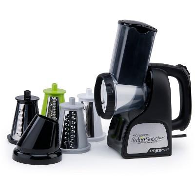 Presto Professional SaladShooter Electric Slicer/Shredder- 02970
