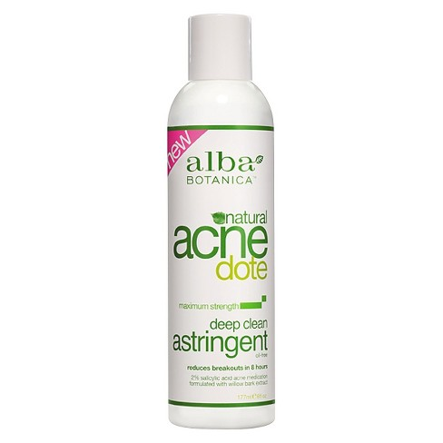Unscented Alba Acnedote Deep Clean Astringent - 6oz - image 1 of 3