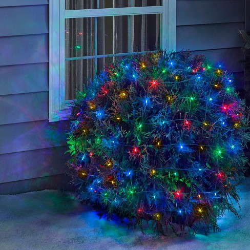 - Philips 50ct Christmas Solar Net Lights Multicolore : Target