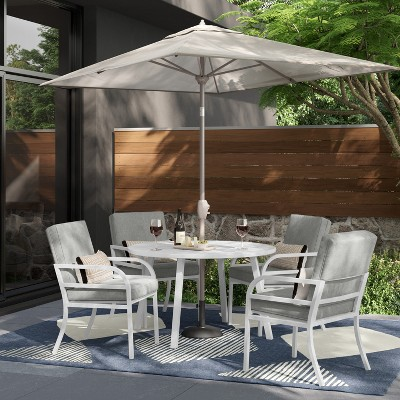 Beacon Hill 5pc Patio Dining Set - Gray - Project 62™
