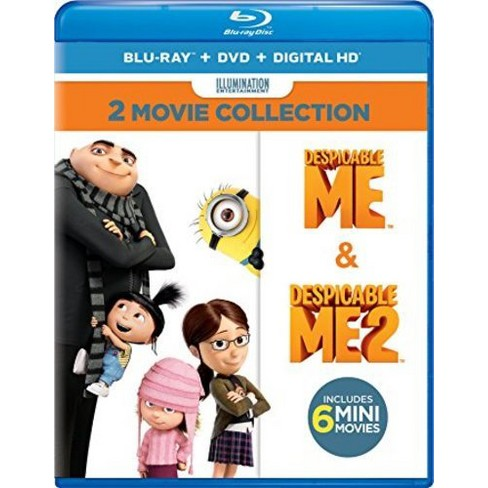 Despicable Me 2-Movie Collection (Blu-ray + DVD + Digital) - image 1 of 1