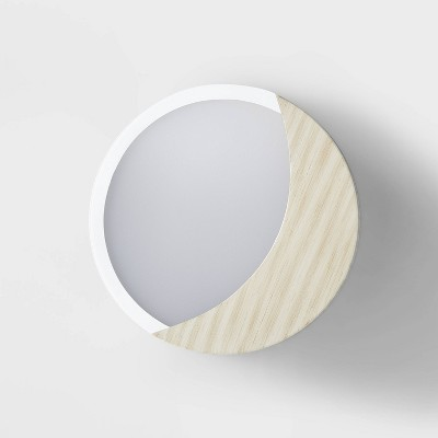 Lit Wall Decor Natural/White - Pillowfort™
