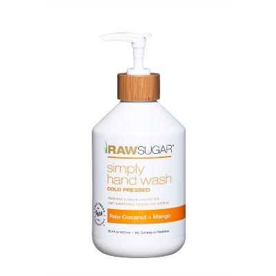 Raw Sugar Simply Hand Wash Raw Coconut + Mango - 16.9 fl oz