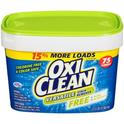 OxiClean Powder Versatile Stain Remover Free - 3.5lbs