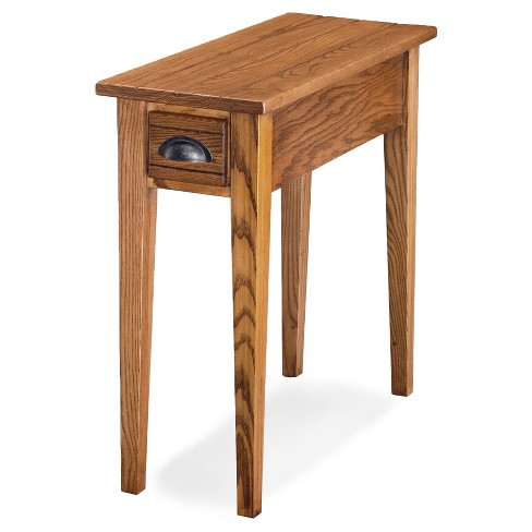 Bin Pull Small End Table Candleglow Leick Home