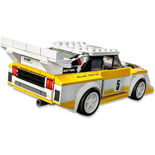LEGO Speed Champions 1985 Audi Sport Quattro S1 76897 Toy Car Building Kit image number null