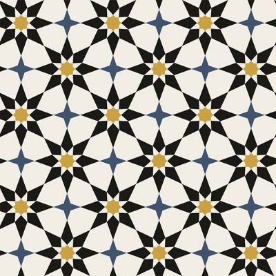 Tempaper Soleil Moroccan Spice Self-Adhesive Removable Wallpaper