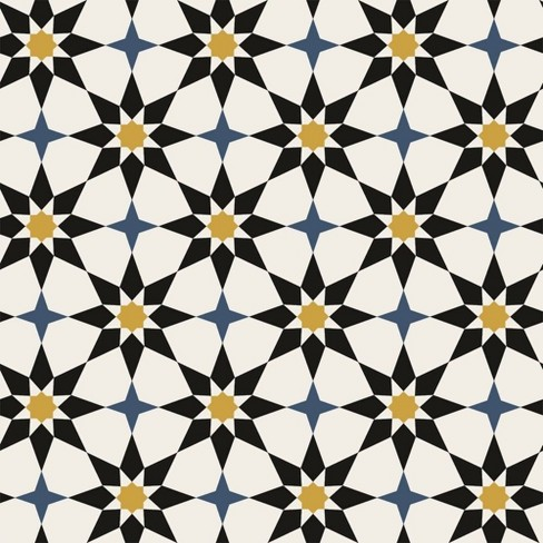 Tempaper Soleil Moroccan Spice Self-Adhesive Removable ...