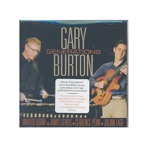 Gary (Vibes) Burton - Generations (CD) - image 1 of 1