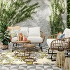 Southport Patio Chair + Half Linen - Opalhouse™ - image 2 of 4