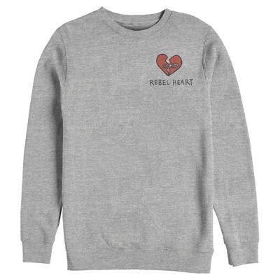 Men's Cruella Rebel Heart Sweatshirt