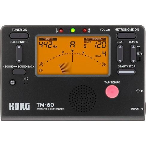 Korg TM-60 Tuner Metronome - image 1 of 2