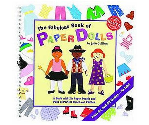 Fabulous Book of Paper Dolls (Hardcover) (Julie Collings) - image 1 of 1