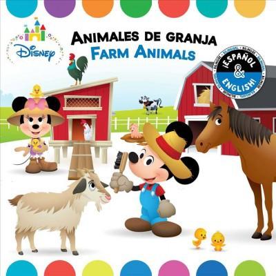 Farm Animals / Animales de Granja (English-Spanish)(Disney Baby)- (Disney Bilingual)by R J Cregg (Board Book)