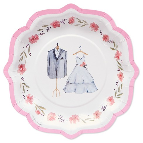 Papyrus Happily Ever After Dessert Plate - image 1 of 2