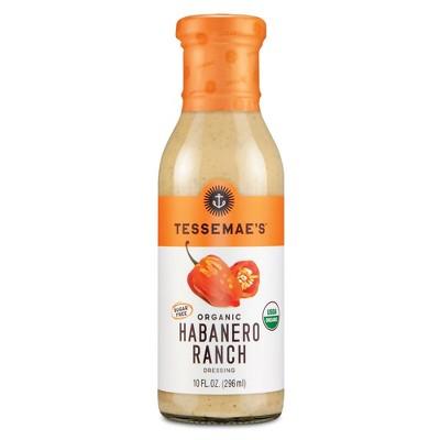Tessemae's Organic Habanero Ranch Dressing - 10 fl oz