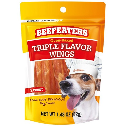 Beefeaters Triple Flavor Wings for Dog - 1.48oz - image 1 of 3