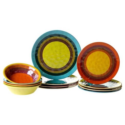 Certified International Sedona by Nancy Green Melamine 12pc Dinnerware Set - image 1 of 1