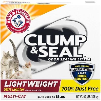 Cat Litter: Arm & Hammer Clump & Seal Lightweight