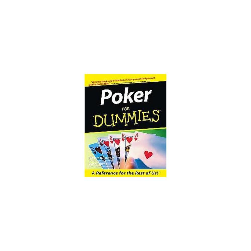 Poker for Dummies (Paperback) (Richard Harroch)