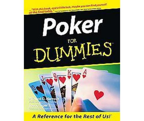 Poker for Dummies (Paperback) (Richard Harroch) - image 1 of 1