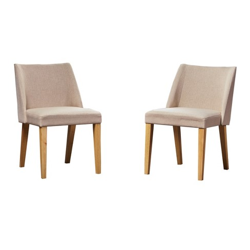 Regina Set Of 2 Accent Chair Wheat Christopher Knight Home Target