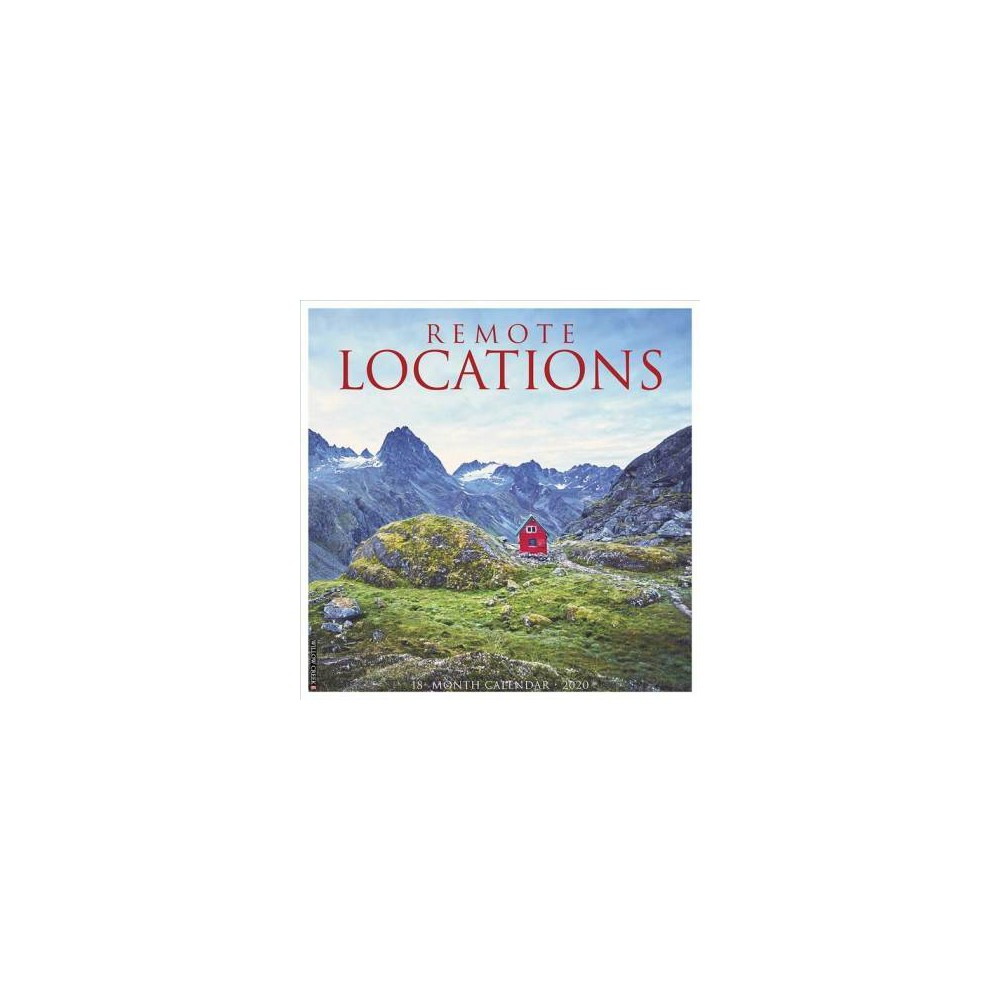 Remote Locations 2020 Calendar - (Paperback)