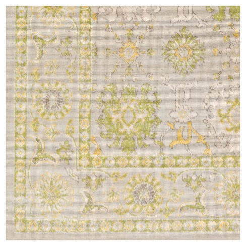 Lime Solid Tufted Area Rug 5 3 X7 6 Surya Target