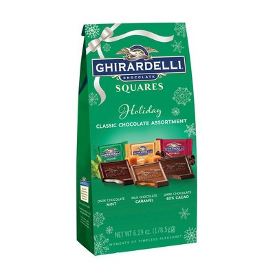 Ghirardelli Chocolate Squares Holiday Classic Assortment - 6.29oz