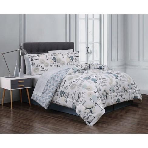 8pc Maze Daze Comforter Set - Geneva Home Fashion - image 1 of 2