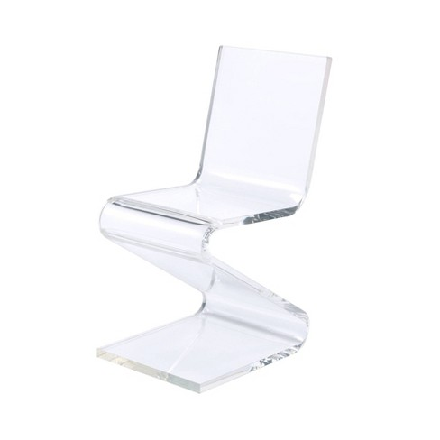 Peek Acrylic Z Chair Clear - Picket House Furnishings - image 1 of 4