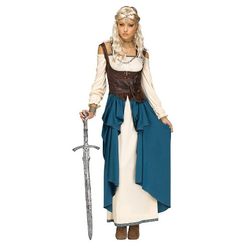 52d43e46 Women's Viking Queen Costume
