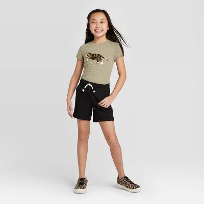 Girls' Knit Midi Pull-On Shorts - Cat & Jack™