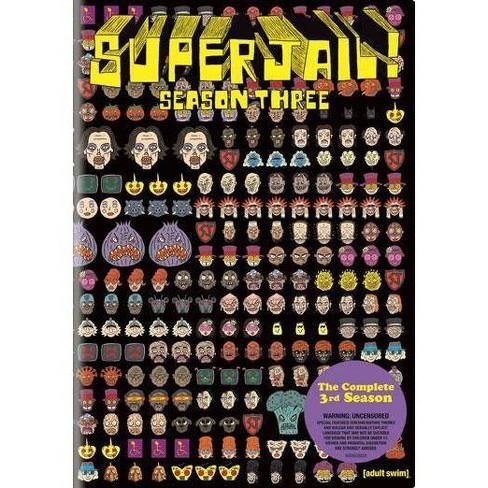 Superjail!: Season Three (DVD) - image 1 of 1