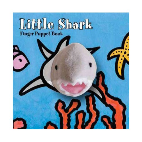 Little Shark: Finger Puppet Book - (Little... (Chronicle Board Books)) (Board_book) - image 1 of 1