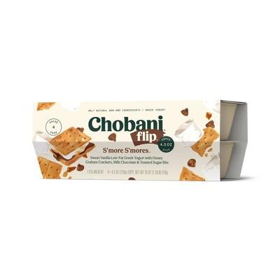 Chobani Flip S'more S'mores Greek Yogurt - 4pk/5.3oz Cups
