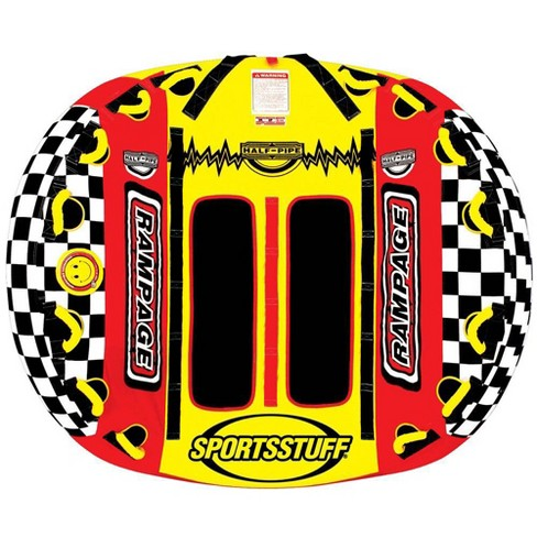 Airhead SPORTSSTUFF Half Pipe Rampage Inflatable Double Rider Towable | 53-2155 - image 1 of 4