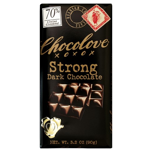 Chocolove Strong Dark Chocolate - 3.2oz - image 1 of 4