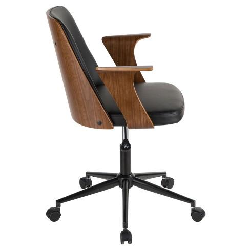 Verdana Mid Century Modern Office Chair Lumisource Target