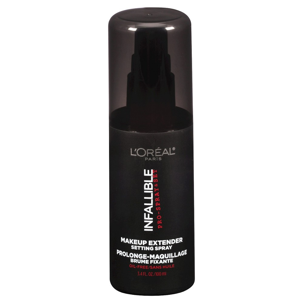Image of L'Oreal Paris Infallible Pro-Mist & Fix Spray 215 Finishing Spray 3.4 fl oz, Clear