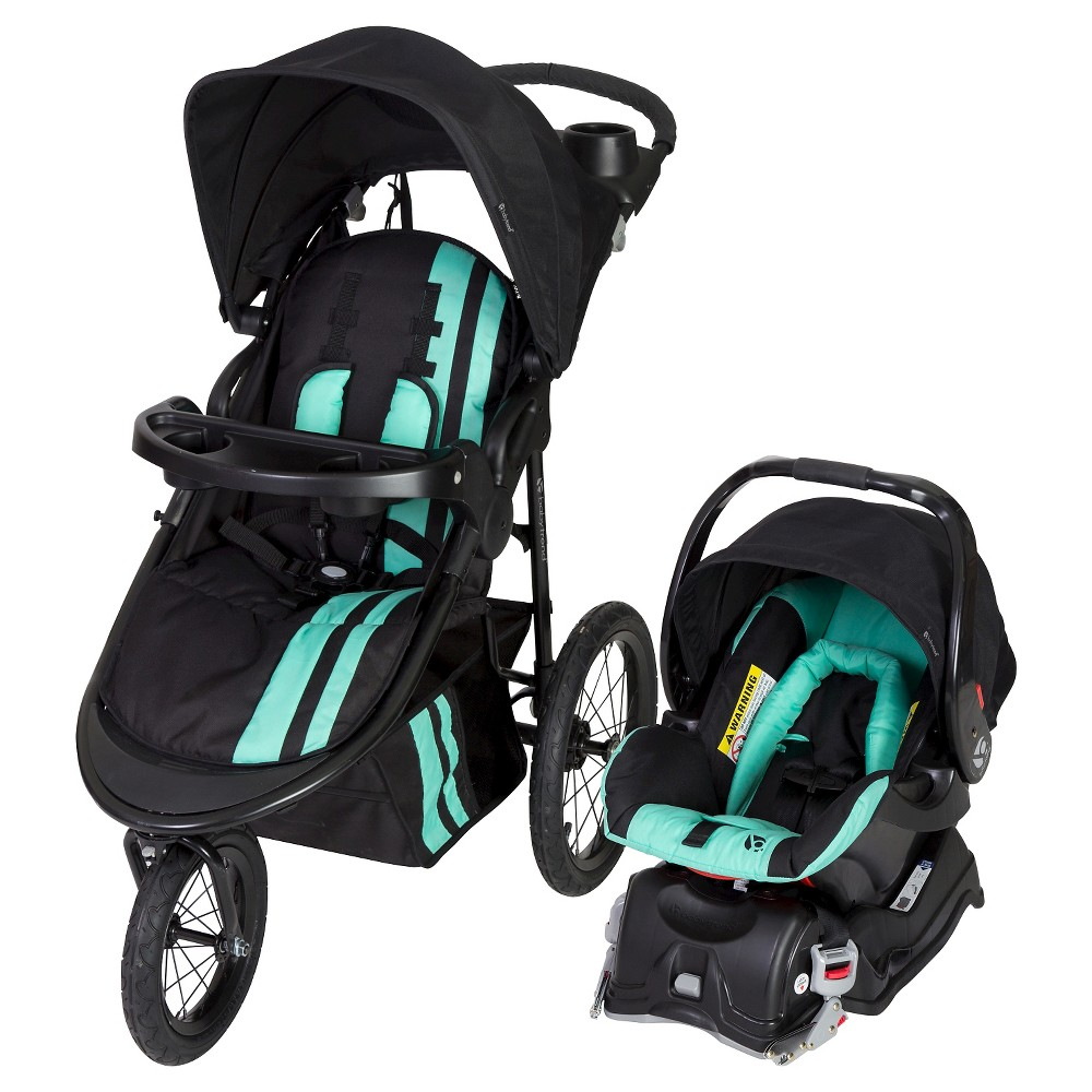 Image of Baby Trend Cityscape Jogger Travel System -Vivid Green